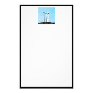 Wind Power (1) Personalized Stationery