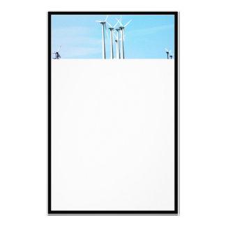 Wind Power (1) Customized Stationery