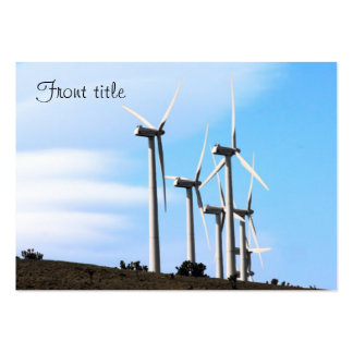 Wind Power (2) Business Card