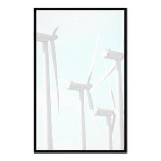 Wind Power (2) Personalized Stationery