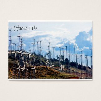 Wind Power (3) Business Card