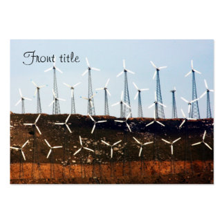 Wind Power (4) Business Card Templates