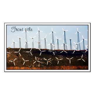 Wind Power (4) Business Cards