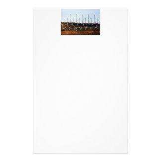 Wind Power (4) Custom Stationery