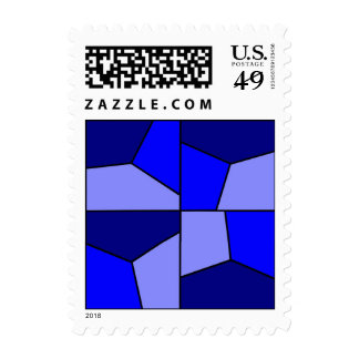 Wind Power Blues Postage