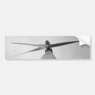 Wind Power Bumper Sticker