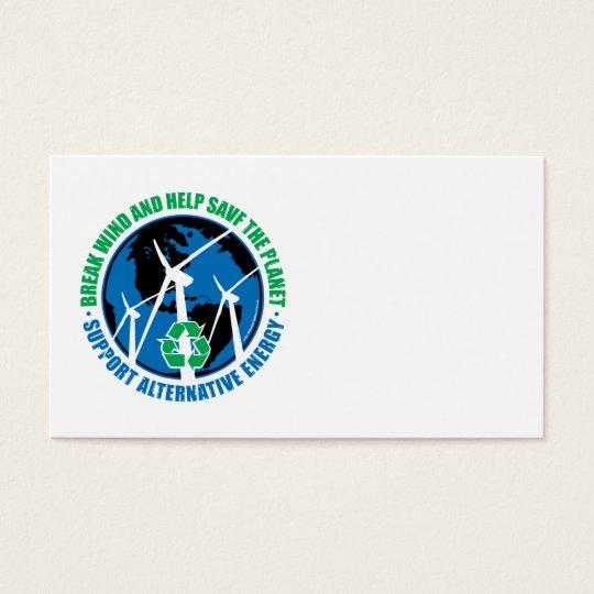 Wind Power Business Card