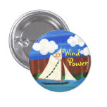 Wind Power - Clearwater Pinback Button