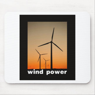 Wind Power design! Mouse Pad
