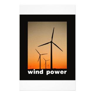 Wind Power design! Stationery Design