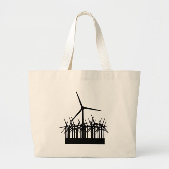 wind power environment large tote bag