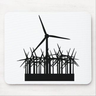 wind power environment mouse pad