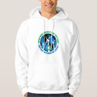 Wind Power Hooded Pullover