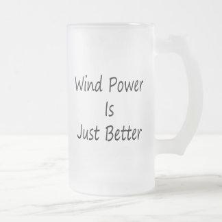 Wind Power Is Just Better Coffee Mugs