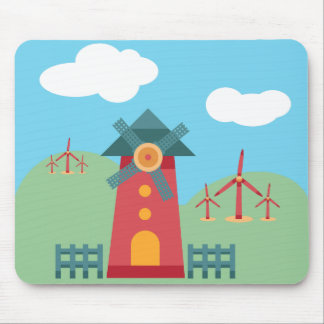 Wind Power Mouse Pad