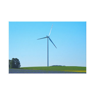 Wind Power Plant - Canvas