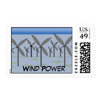 Wind Power Postage