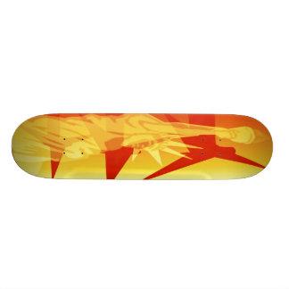 Wind = Power Skateboard Deck
