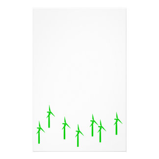 wind power stationery (green)