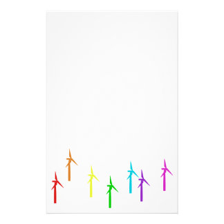 wind power stationery (multicolor)