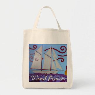 Wind Power Tote Bag