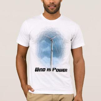 WIND POWER TURBINE TEE