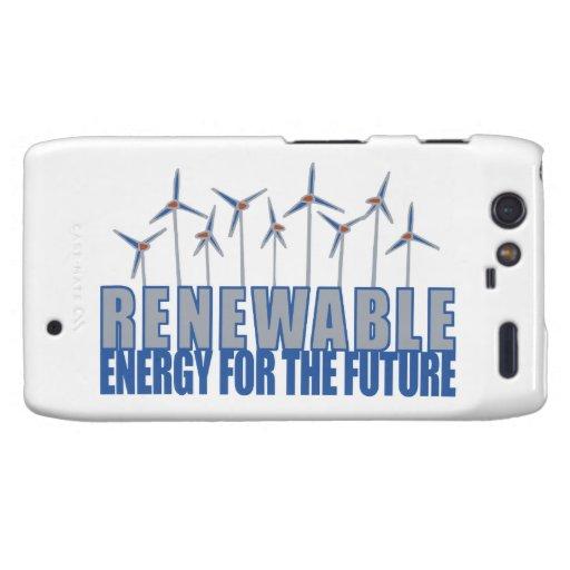 Wind Power Turbines Motorola Droid RAZR Cover