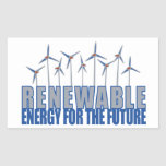 Wind Power Turbines Stickers