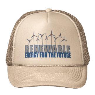 Wind Power Turbines Trucker Hat