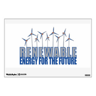 Wind Power Turbines Wall Decal
