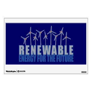 Wind Power Turbines Wall Sticker