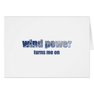 Wind Power Turns! Card