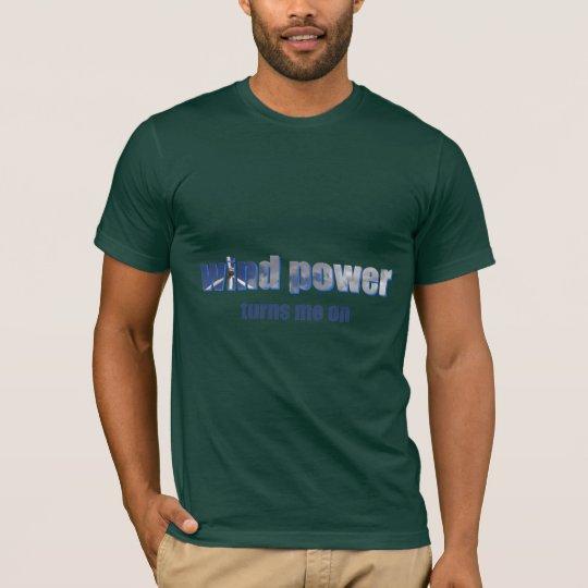 Wind Power Turns! Dark Shirts