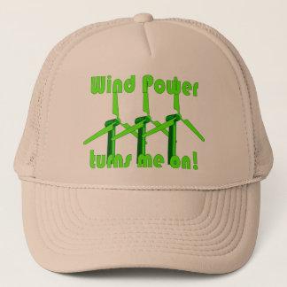 Wind Power Turns Me On Trucker Hat