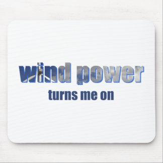 Wind Power Turns! Mousepad