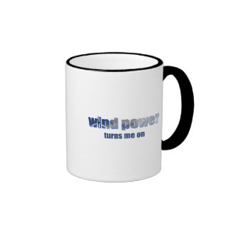 Wind Power Turns! Mugs and Cups
