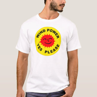Wind Power Yes Please T-Shirt