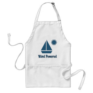 Wind Powered Adult Apron