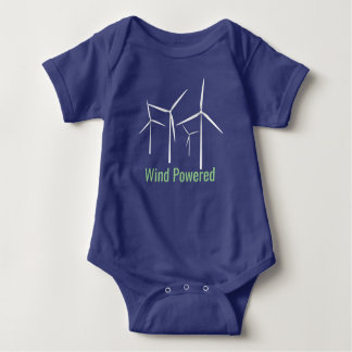 Wind Powered Funny Baby Bodysuit