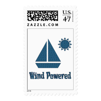 Wind Powered Postage