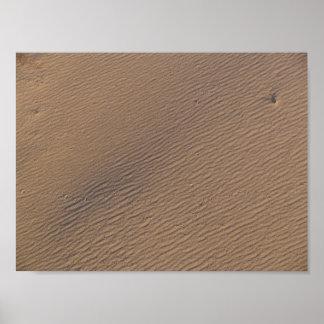 Wind Ripples in Sand II - Standard Poster
