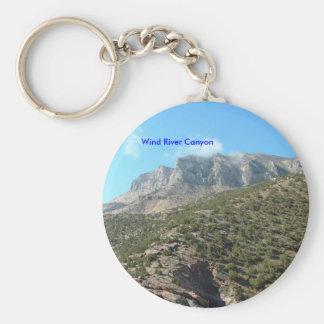 Wind River Canyon Keychain