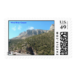 Wind River Canyon Postage