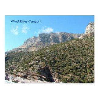 Wind River Canyon Postcard