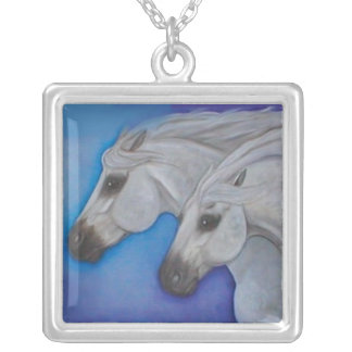 Wind Runners Andalusian Horse Necklace