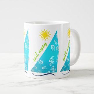 Wind, Sail and Sun Jumbo Mug