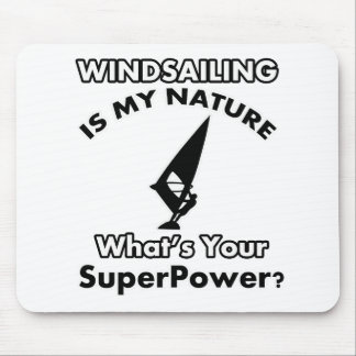 wind sail design mouse pad