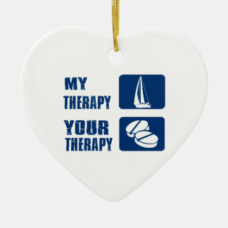 Wind Sailing designs and gift items Christmas Tree Ornaments