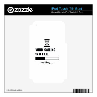 Wind Sailing skill Loading...... iPod Touch 4G Skin