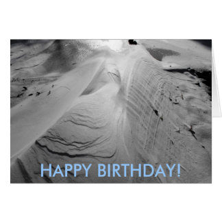 Wind Sculpture Birthday Card